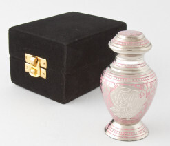 Arcadia Rose Keepsake Urn - Token ashes/Pocket Pets