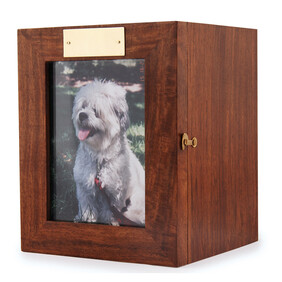 Portrait pet urn