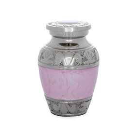 Amia Pink ashes keepsake
