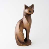 Figurine Collection - Spirit of cat - Antique Bronze