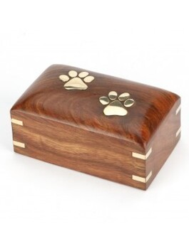 Pet urn keepsake pocket pets and small cats/dogs